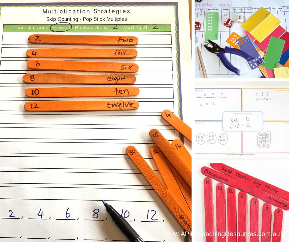 multiplication printable number games