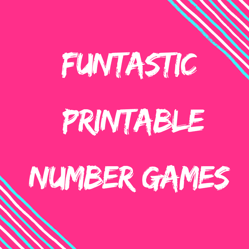 FUNtastic Printable Number Games