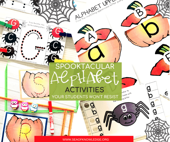 Halloween Literacy Activities