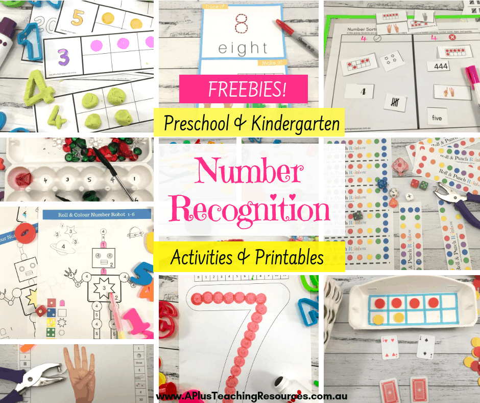 Kindergarten Number Recognition Activities {Hands-On Ideas}