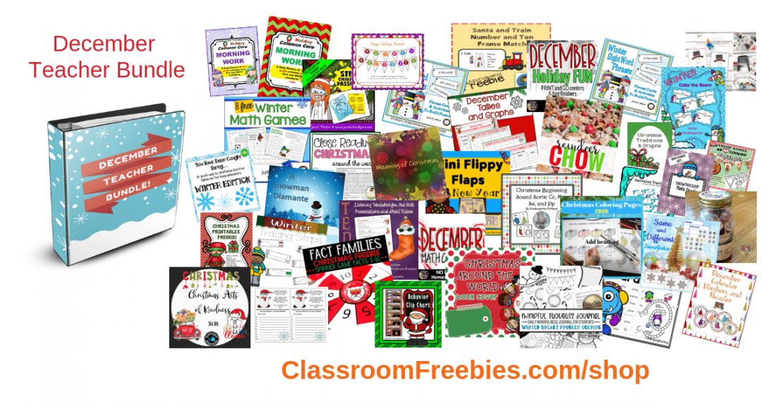 December Teaching Bundle