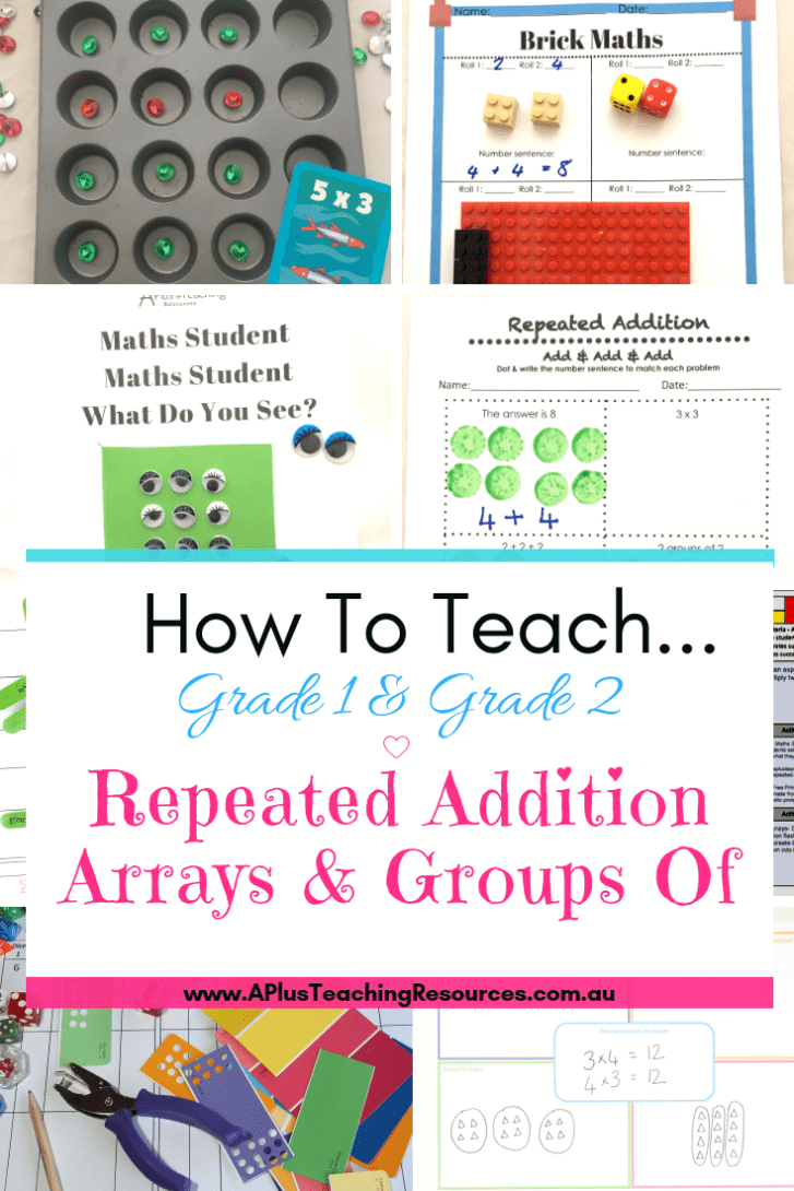 Teaching Repeated Addition