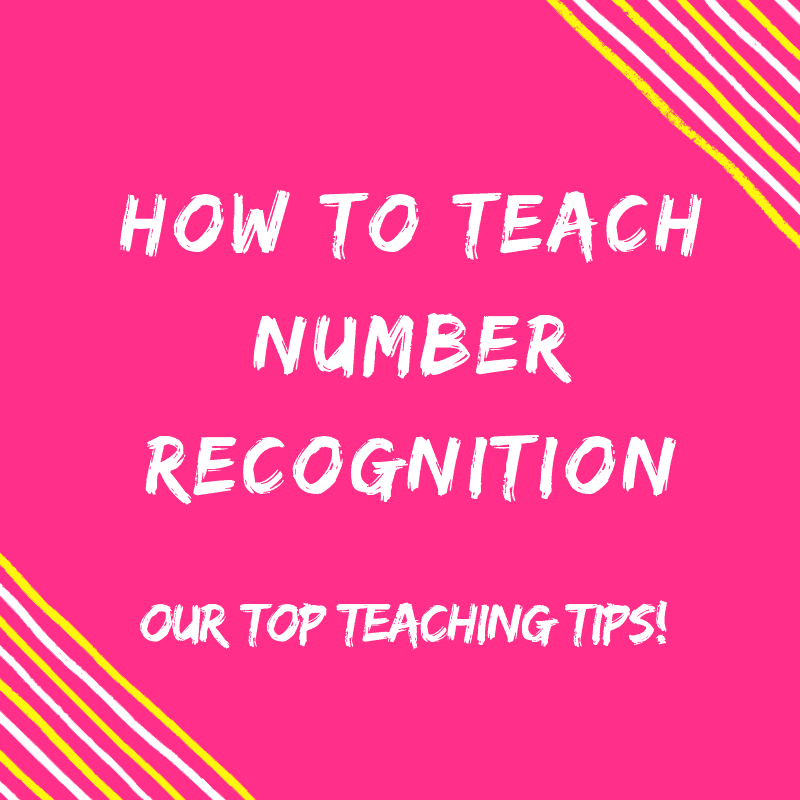 How To Teach Number Recognition To Kindergarten Kids {Top Teaching Tips}