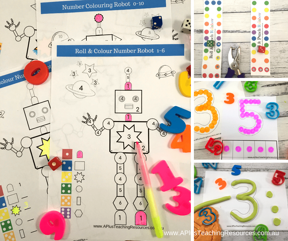 Teaching Number Recognition Activities