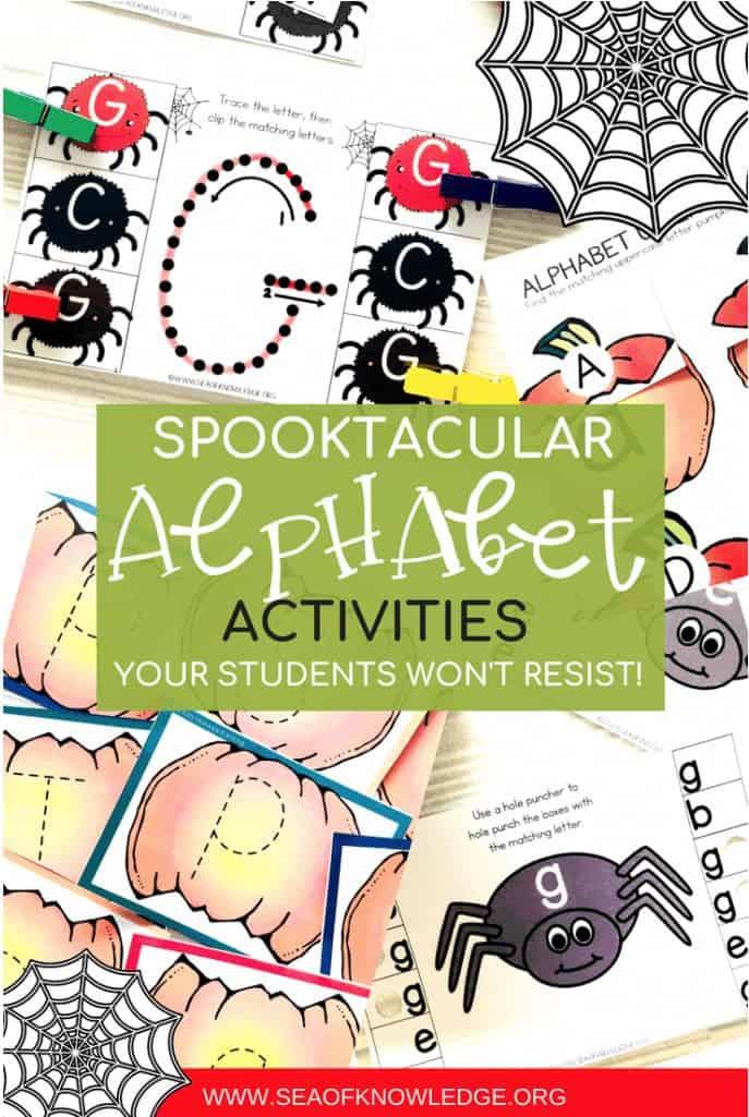Spooky Alphabet Activities