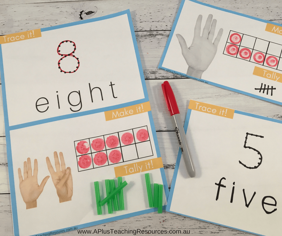 Counting on fingers pack