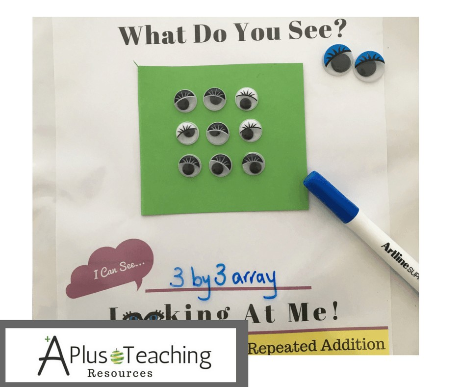 Repeated Addition Activities