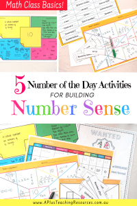 Number Of the Day Activities For Teaching Number Sense