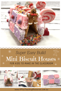 Easy To Build Graham Cracker Gingerbread Houses