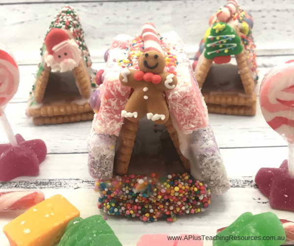 mini gingerbread houses for kids