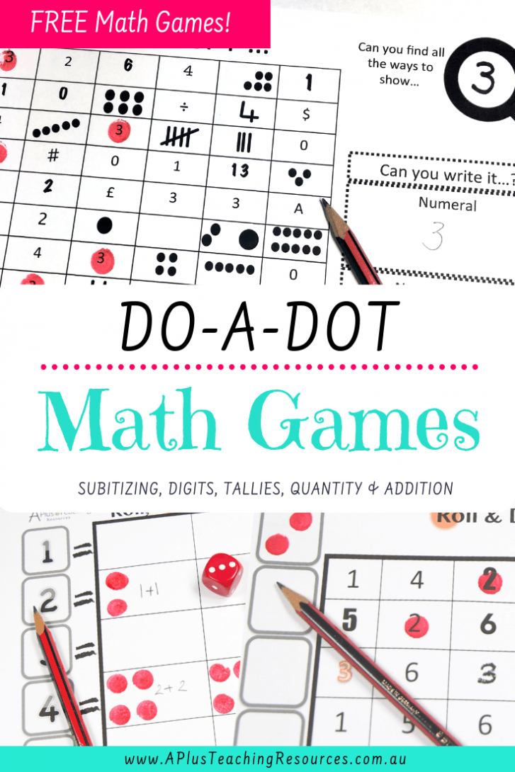 Do -a-Dot Math Games