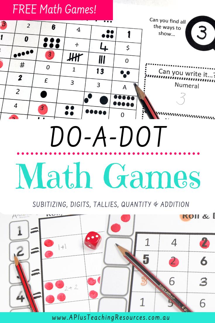 Do -a-Dot Math Games