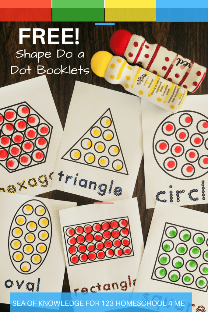 do a dot free shape printables booklet