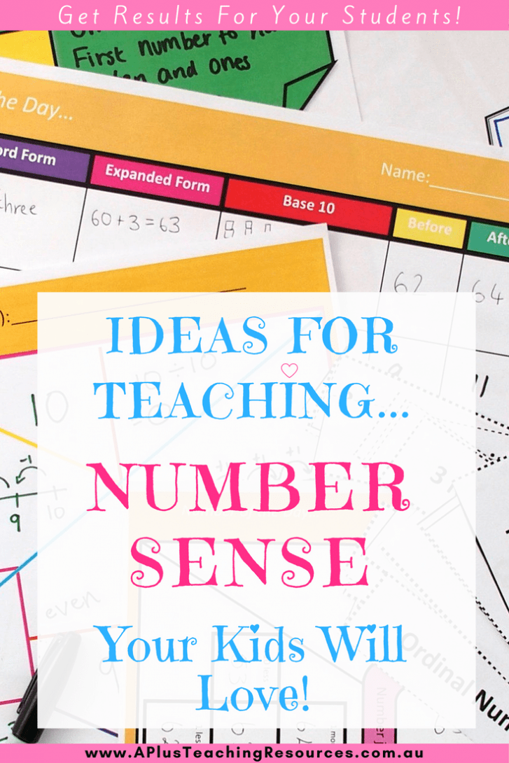 Ideas For Teaching Number Sense