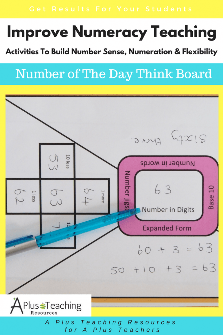 Build Number Sense - Think board