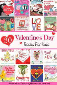 Children's Books about Valentine's day