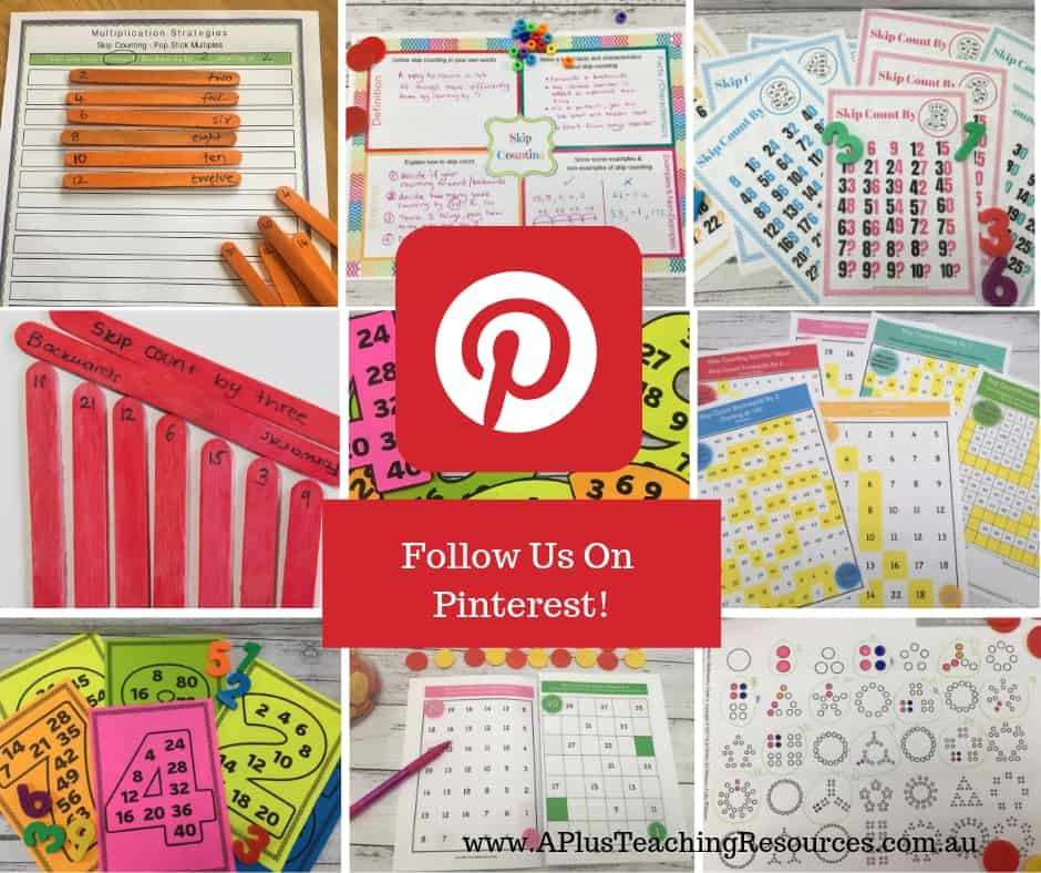 Skip Counting Activities on Pinterest