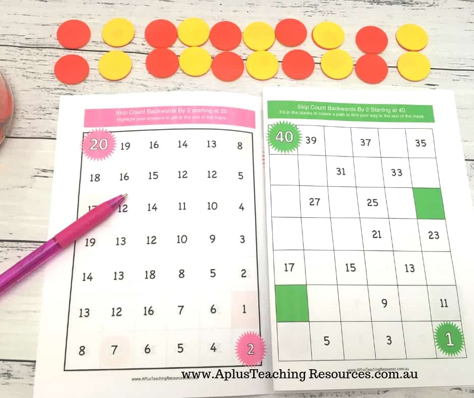 Skip Counting Student Booklet