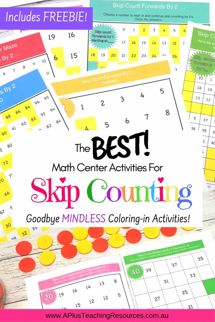 Skip Counting By 2 Mazes