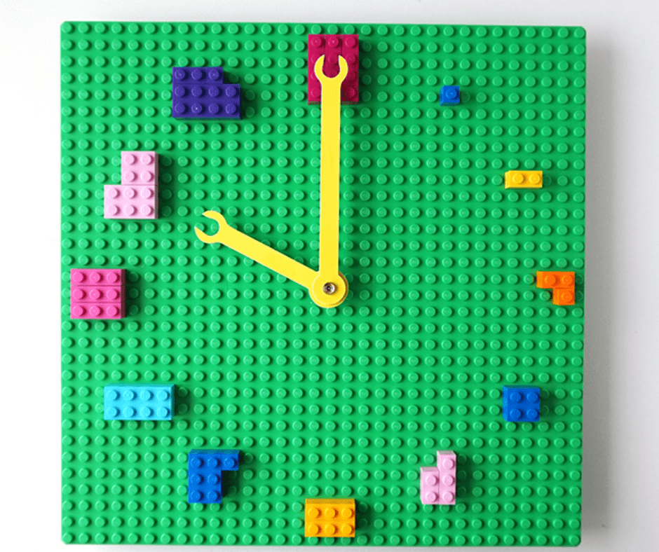 DIY Lego Clock Idea
