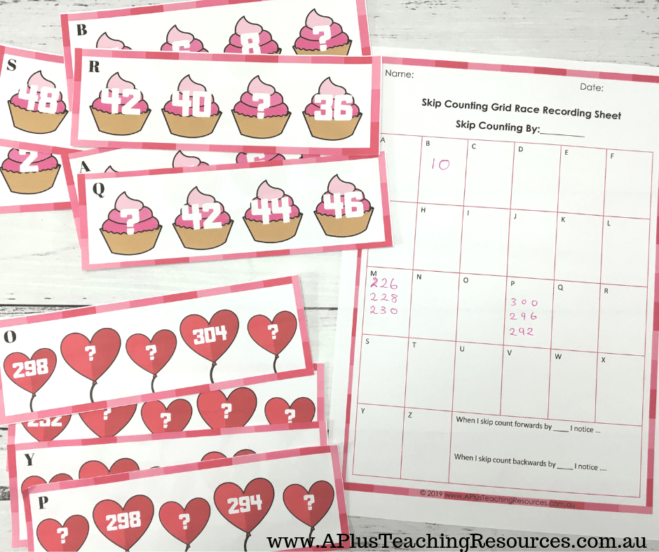 Free Kids Skip Counting Printable