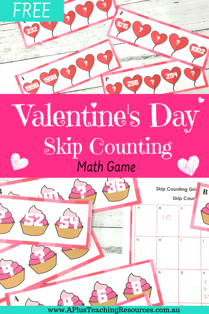 FREE Valentines day math activity