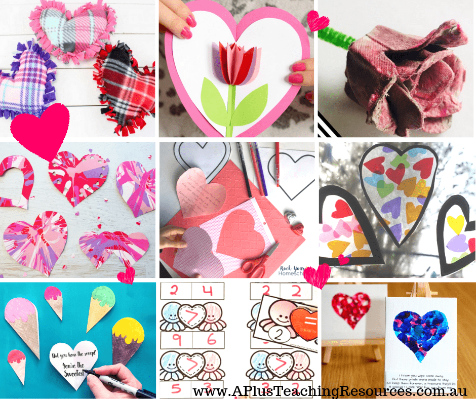 Valentines Day Activities and crafts For Kids