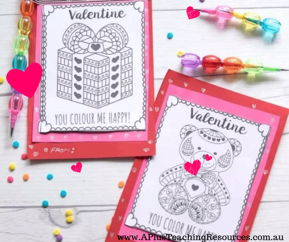 Valentines Day Printables For Kids