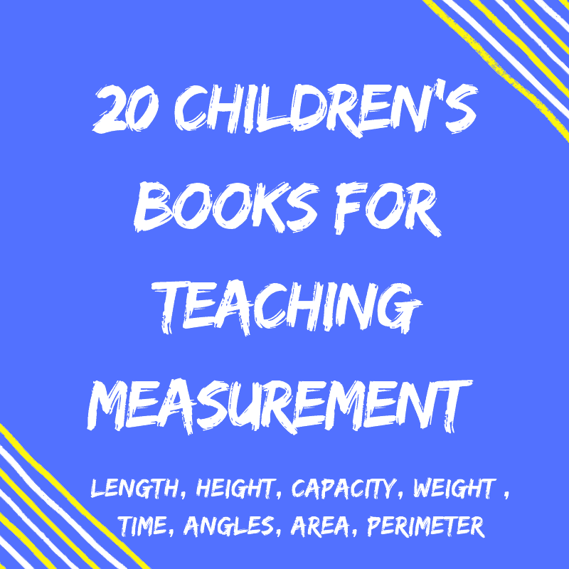 20 Children's Books For Teaching Measurement {For Curious Kids!}