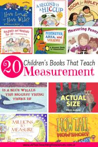Children's Books For Teaching Measurement