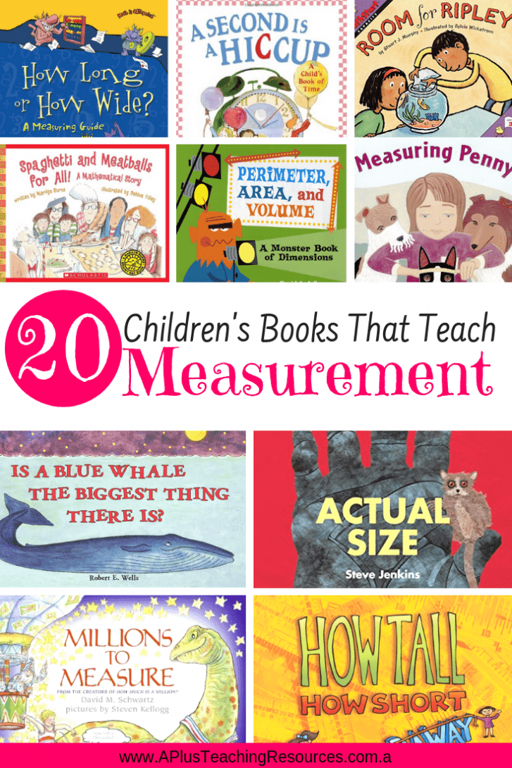 Children's Books For Teaching Measurement
