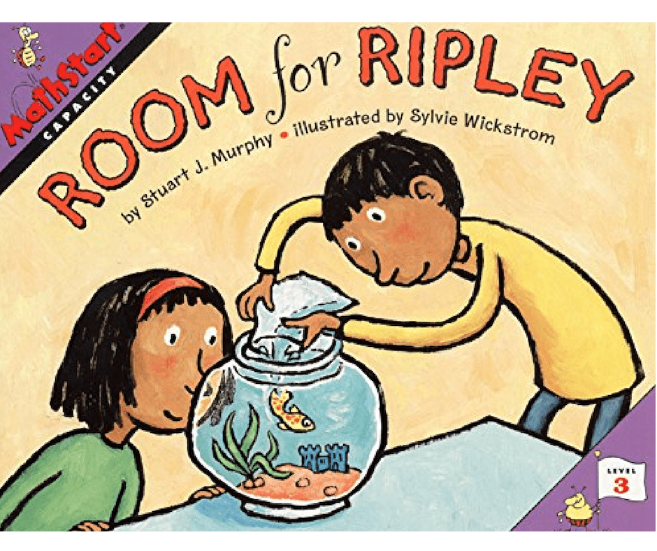 Room for ripley children's book about capacity