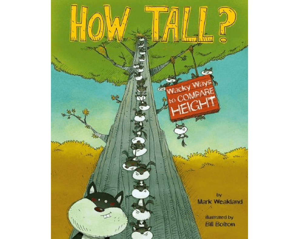 Measurement Picture Book - How Tall
