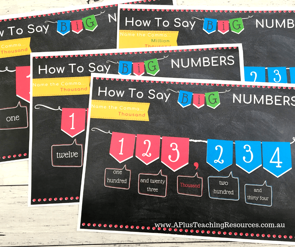 How To Pronounce Big Numbers Fun Comma Games
