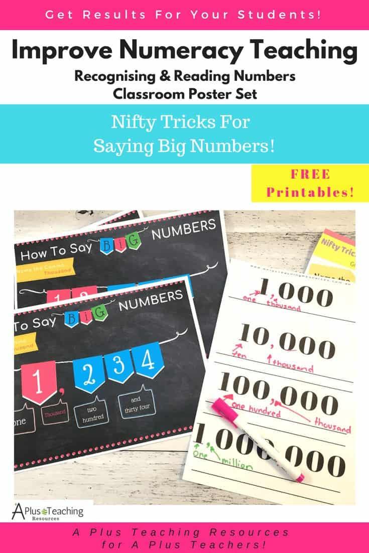 Saying Big Numbers