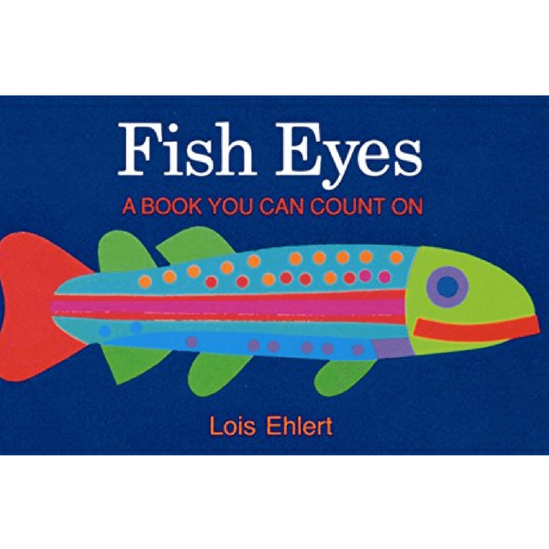 Fish Eyes Counting Book For Kids