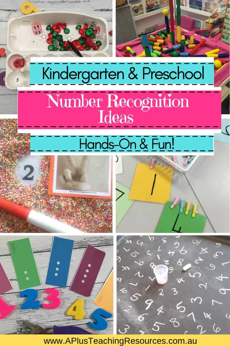 teaching number recognition