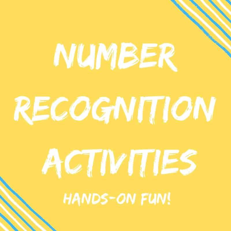 Kindergarten Number Recognition Activities {Hands-On Ideas}