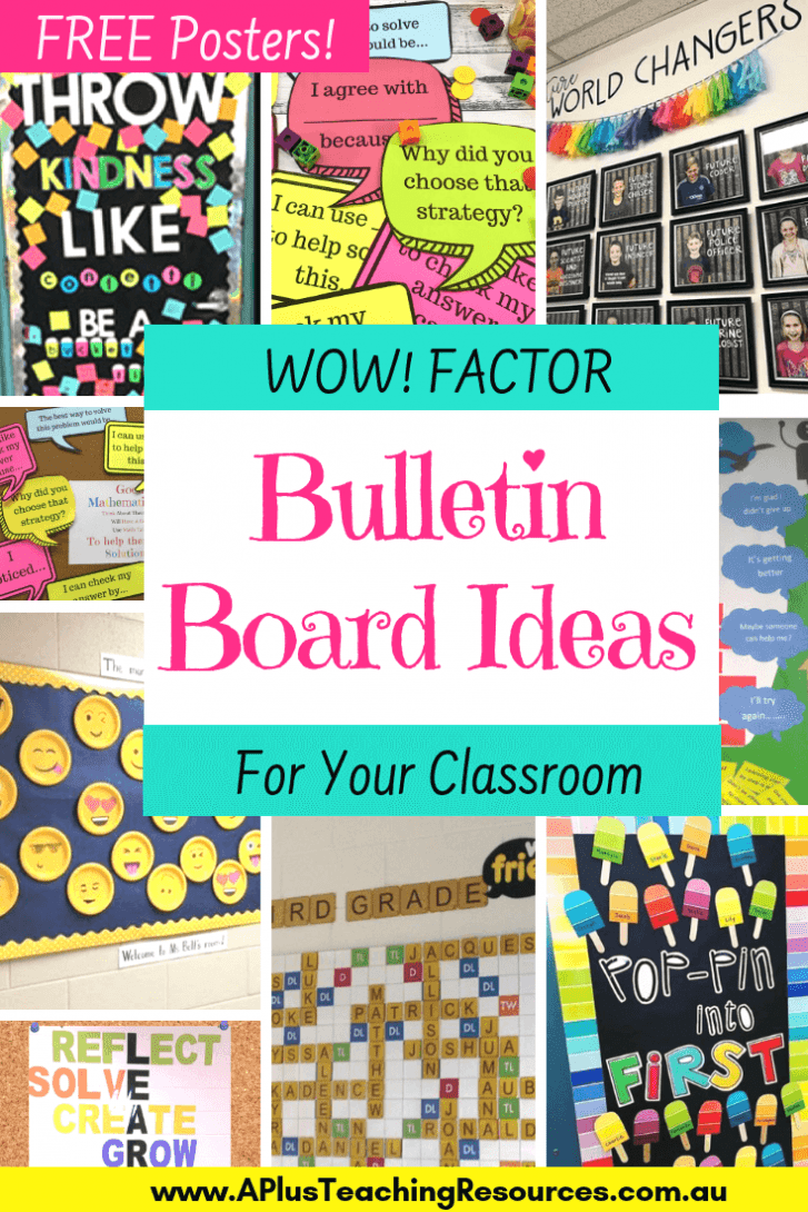 WOW Factor Bulletin Board ideas