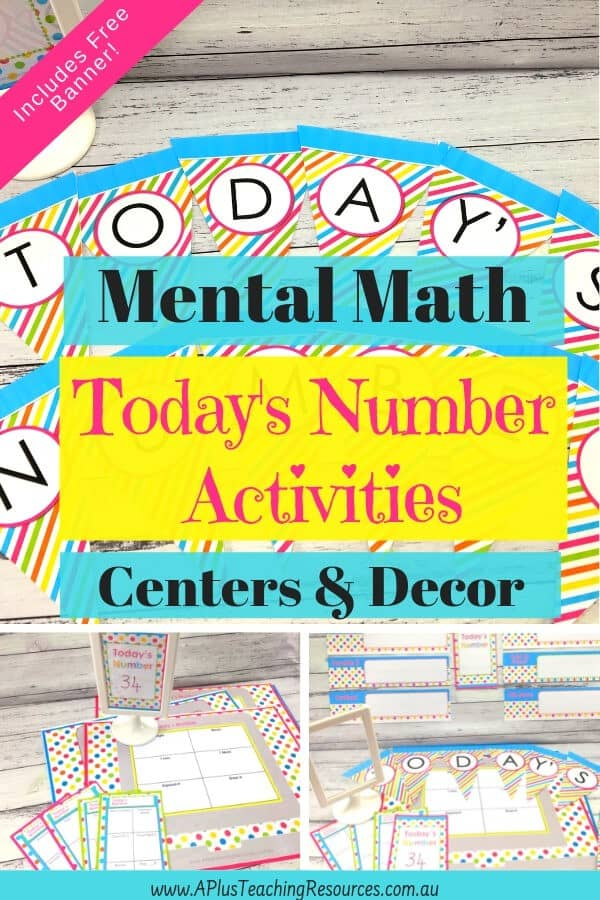 Mental Maths Printable Number Games