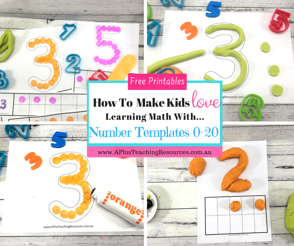 number printable templates