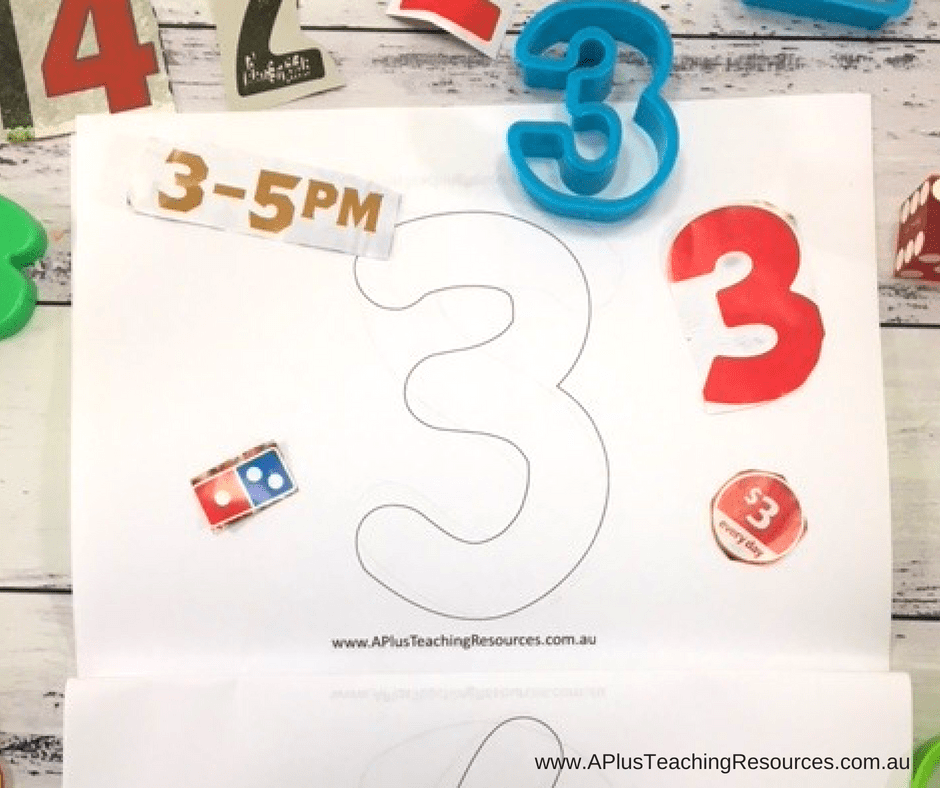 Number booklet Freebie