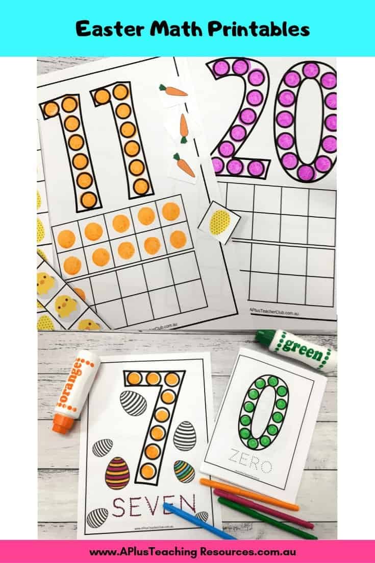 Easter Do-A-Dot Printables