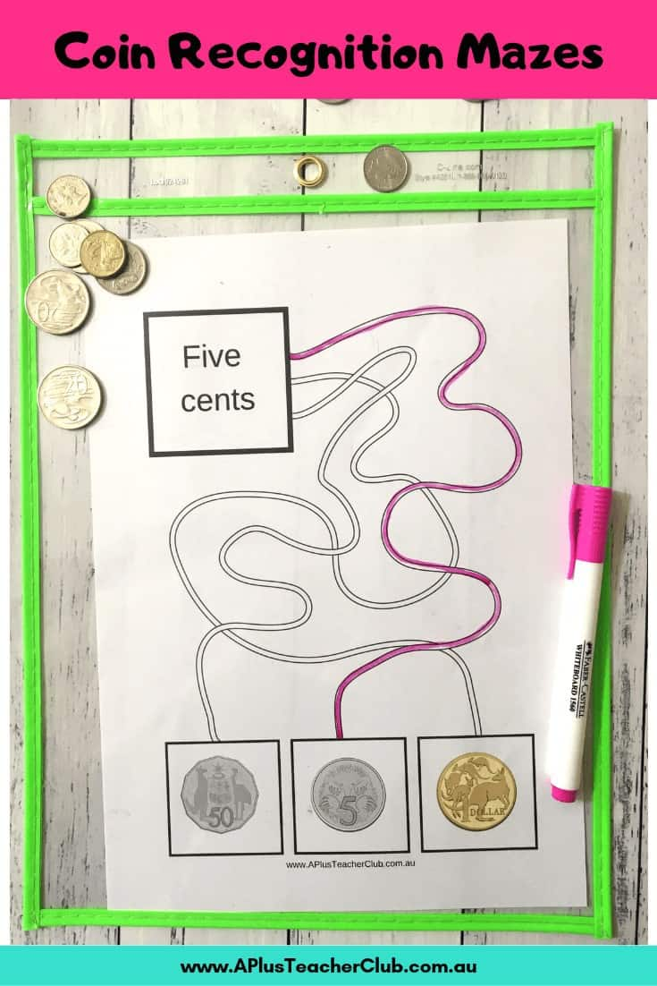Coin maze printables
