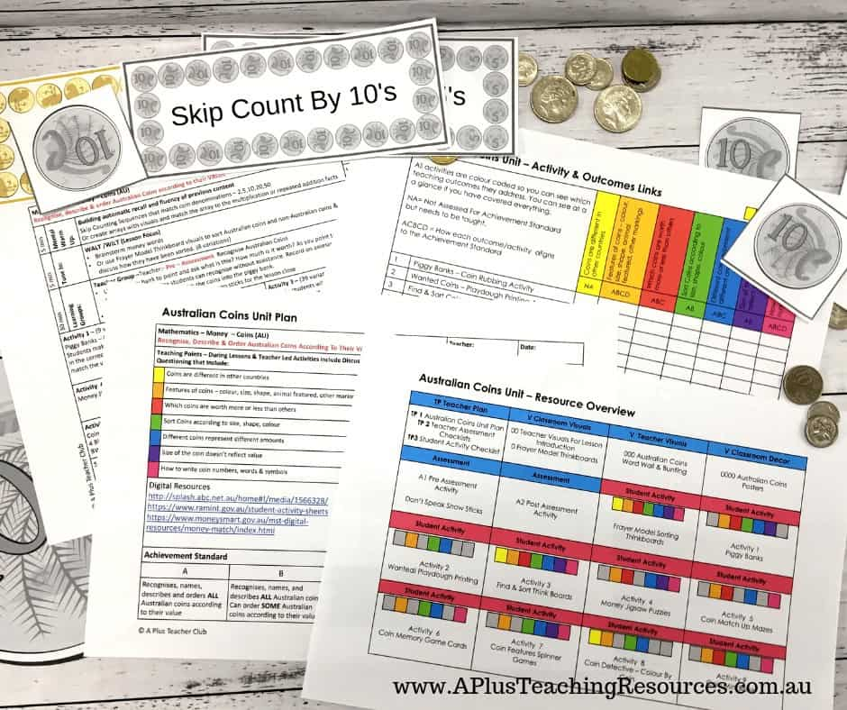 Coin Lesson Plans For Teachers