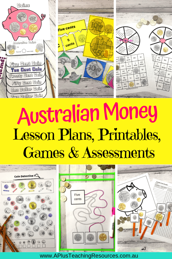 Ultimate Australian Coins Lesson Plans & Activities Kit