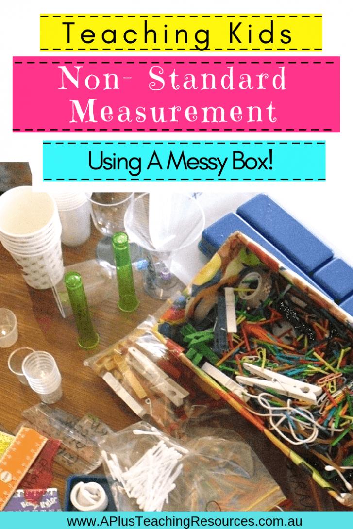 Non Standard Measurement Activities