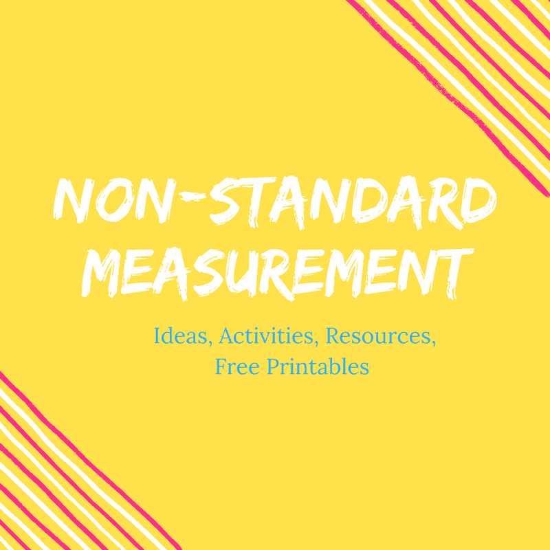 Non Standard Measurement Activities {Our Secret Weapon!}