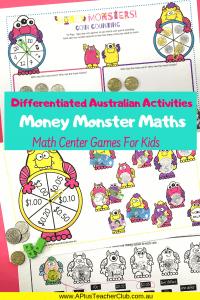 Australian money math games