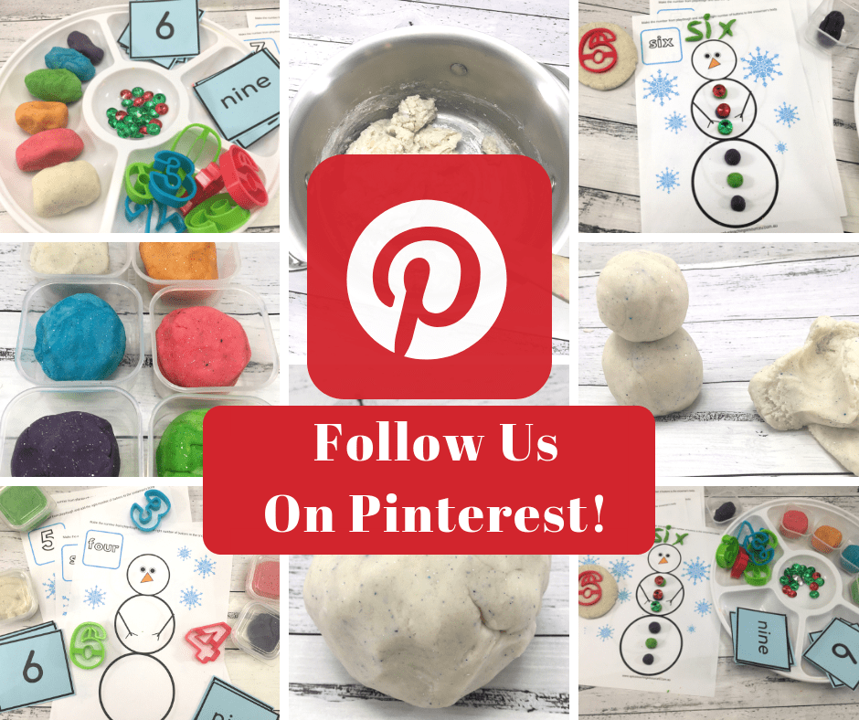 Christmas Playdough Pinterest